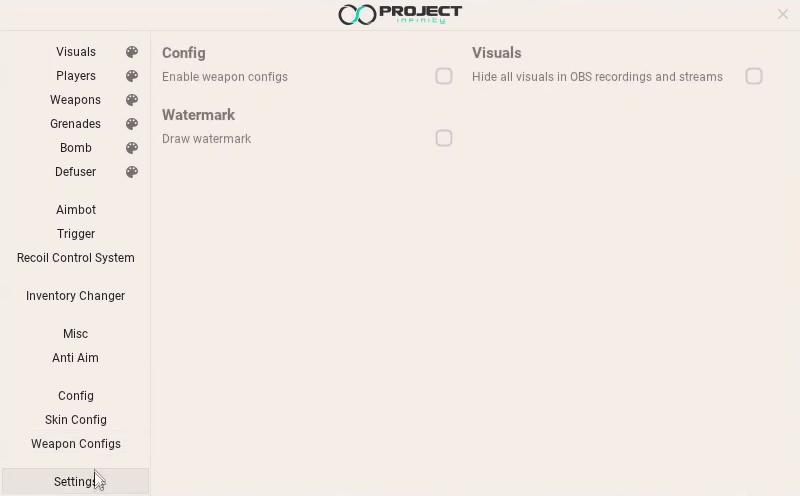 Premium CS:GO Cheat | Project Infinity - Best CSGO Hacks